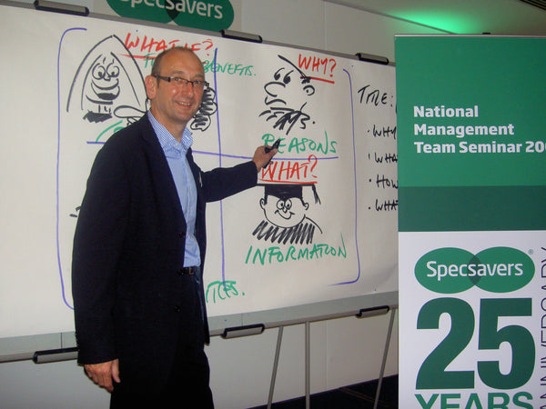 Graham Shaw at Specsavers Conference