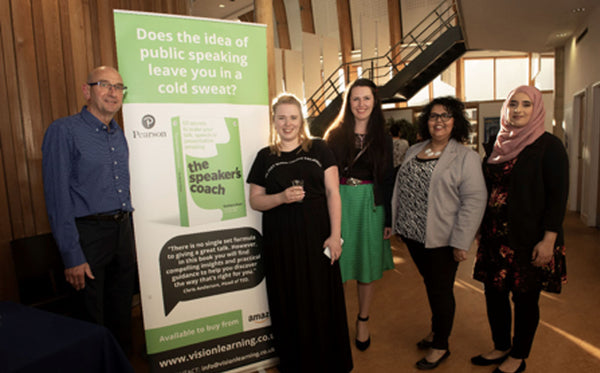 Graham with Maddy Woodman (Henley Careers), Eloise Cook (Publisher at Pearson), 