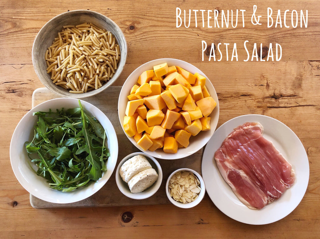 Butternut and Bacon Pasta Salad Recipe