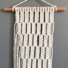 Macrame Wall Hanging Pattern Tutorial for Beginners