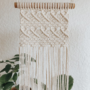 Nala macrame wall hanging pattern great for beginners and intermediate experience.
