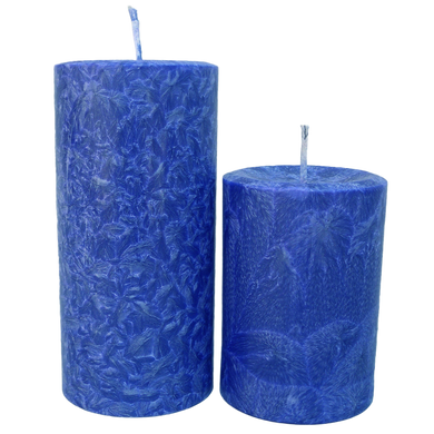 Scented Pillar Candles - theglasscandle-ca