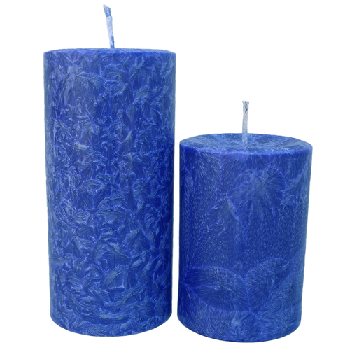 Unscented Pillar Candles - theglasscandle-ca