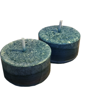Unscented Tea Lights (2 per pack) - theglasscandle-ca
