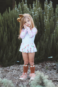 Fox Knee High Socks - Brown or Gray - Aribella Collection
