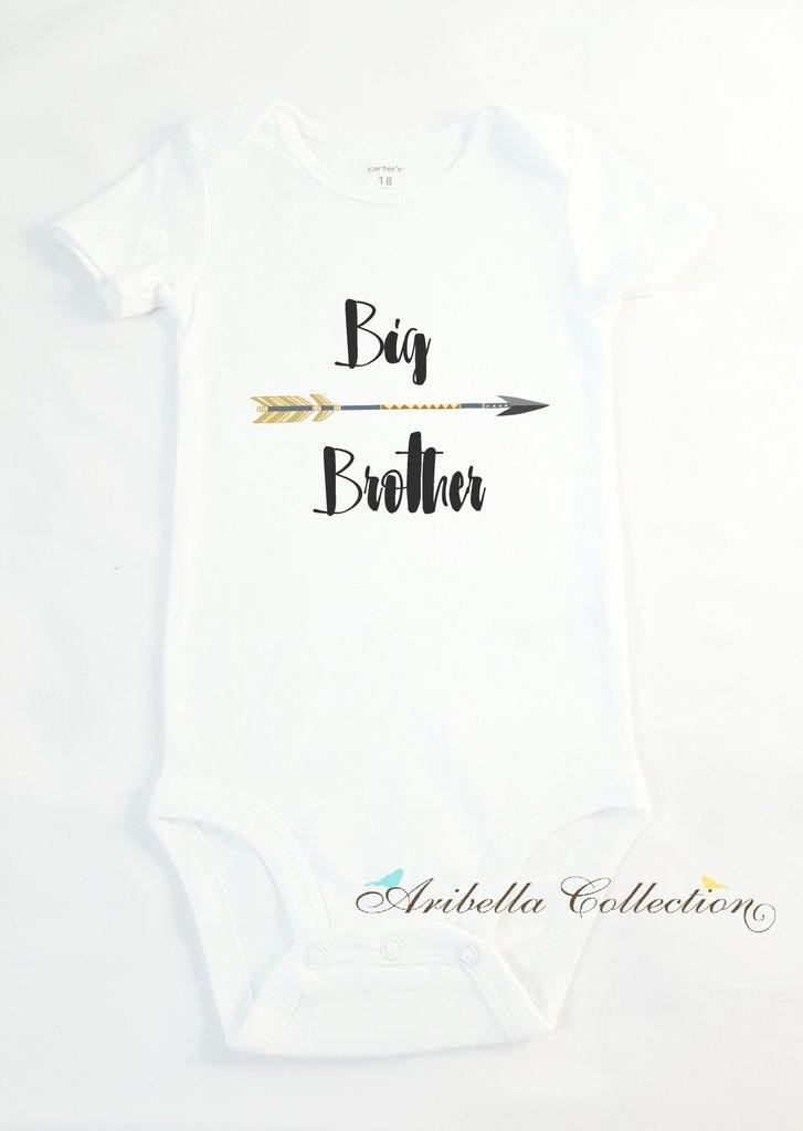 Big Brother Personalized Bodysuit or T-shirt - Aribella Collection