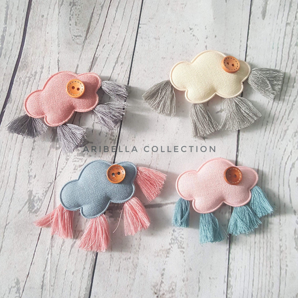 Cloud Rain DIY Embellishment - Aribella Collection