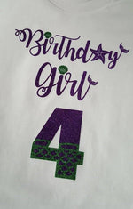 Birthday Girl Outfit - Bodysuit or T-shirt, Skirt, & Hair Clip Bow - Aribella Collection