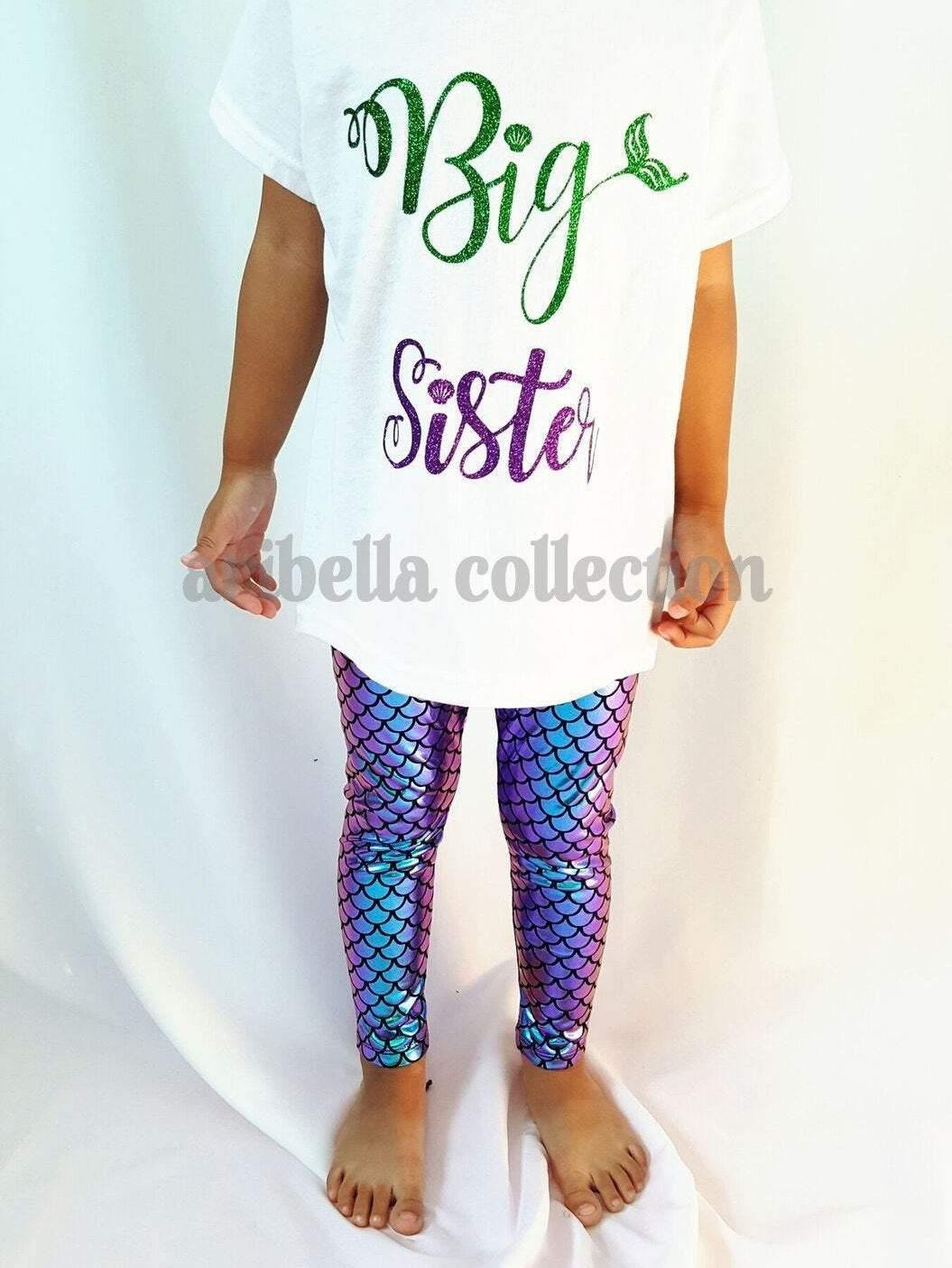 Birthday Girl Personalized Bodysuit or T-shirt, Legging, & Bow Outfit - Aribella Collection, Inc.