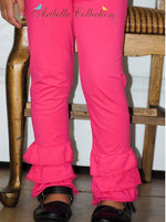 Ruffle Leggings - Aribella Collection, Inc.