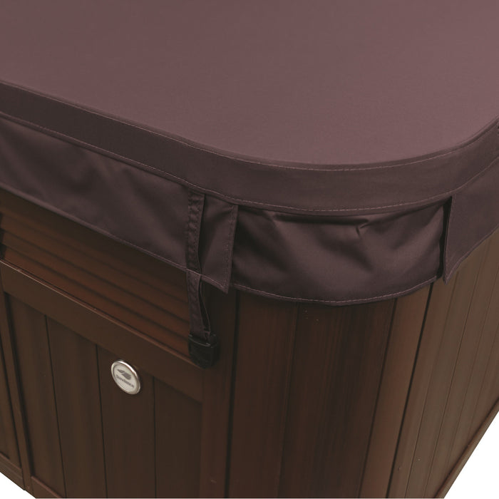 Sundance Spas Cameo Hot Tub Cover Brown 2002-2018+  (P/N: 6476-002M) - Aqua-Tech