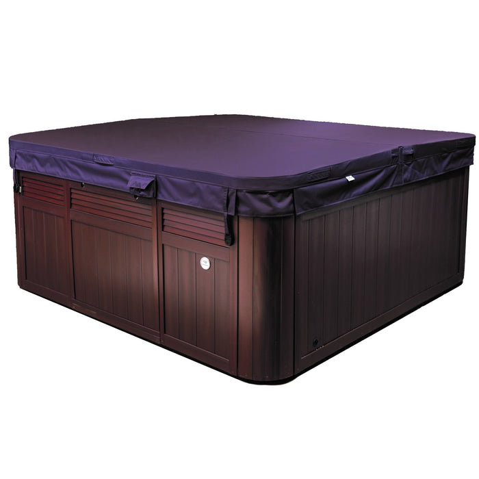 Sundance Spas Hanover Hot Tub Cover Brown  (P/N: 6476-014M) - Aqua-Tech