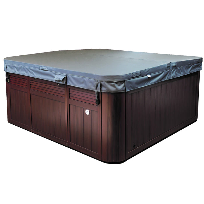 Sundance Spas Maxxus Hot Tub Cover Gray Bi-Fold 2009+  (P/N: 6476-000G) - Aqua-Tech