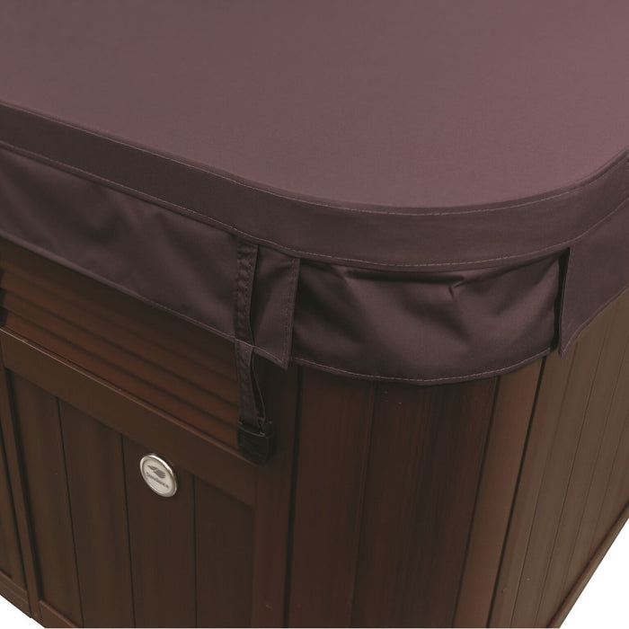 Sundance Spas McKinley Hot Tub Cover Brown  (P/N: 6476-018M) - Aqua-Tech