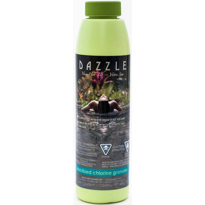 Dazzle Stabilized Chlorine Granules (650gm) - Aqua-Tech