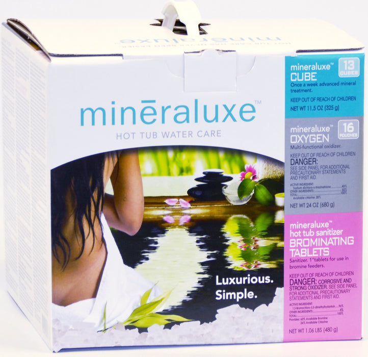 Mineraluxe 3 Month Bromine Tablet Mineraluxe System (3 Month Kit) USA Edition