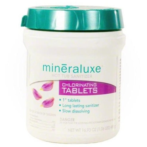 Mineraluxe Chlorine Tablets (480gm) - Aqua-Tech