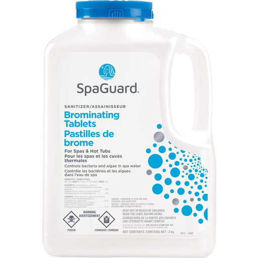 Hot Tub Chemicals - SpaGuard Brominating Tablets (2kg)