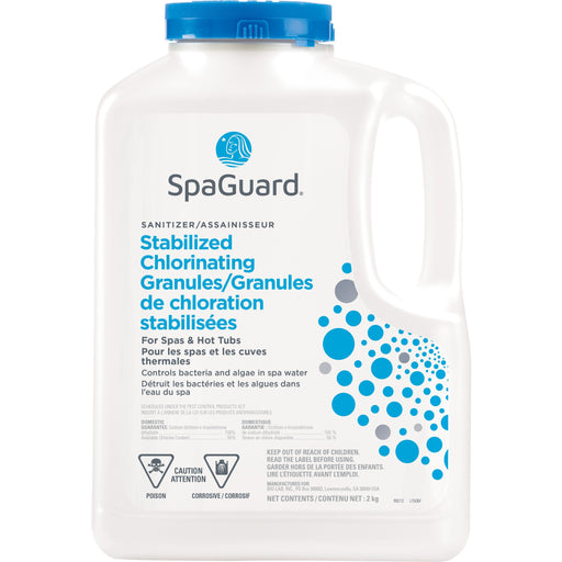 SpaGuard Stabilized Chlorinating Granules (2kg) - Aqua-Tech