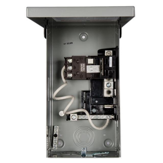 Siemens Spa/Hot Tub Outdoor Panel with 60 Amp GFCI Breaker (P/N:  W0408ML1125-60)