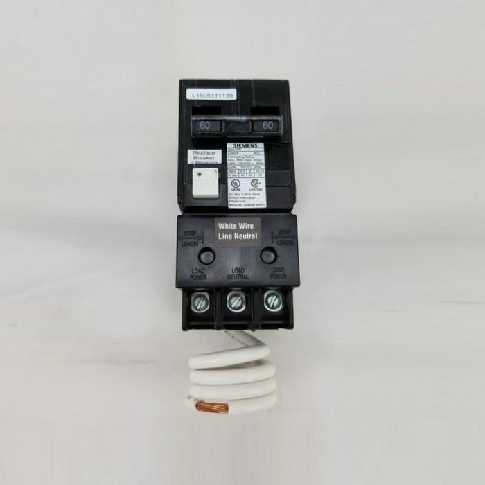 Hot Tub Parts - Siemens Spa/Hot Tub Outdoor Panel With 60 Amp GFCI Breaker (P/N: W0408ML1125-60)