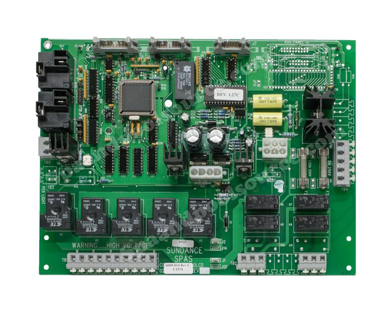Hot Tub Parts - Sundance Spas Jacuzzi Circuit Board (P/N: 6600-014) SHIPS IN 6 TO 8 WEEKS