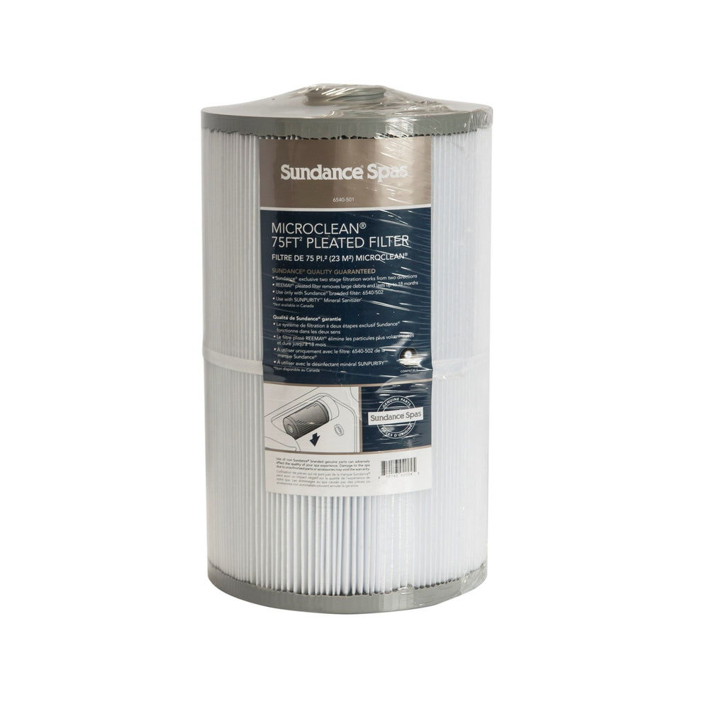Hot Tub Parts - Sundance Spas Microclean 75 Square Foot Filter (P/N: 6540-501)