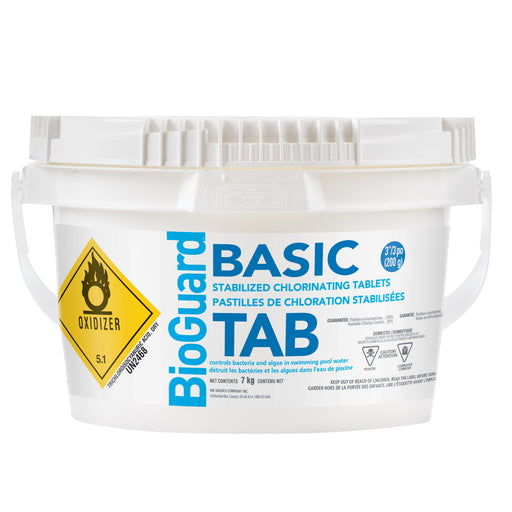 "BioGuard Basic 3"" Tablets (7kg) - Aqua-Tech"
