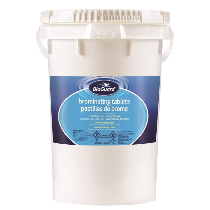 Pool Chemicals - BioGuard Brominating Tablets (18kg) DELIVERS IN 14 DAYS