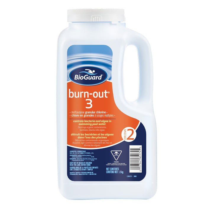 BioGuard Burn-Out® 3 (2kg) - Aqua-Tech