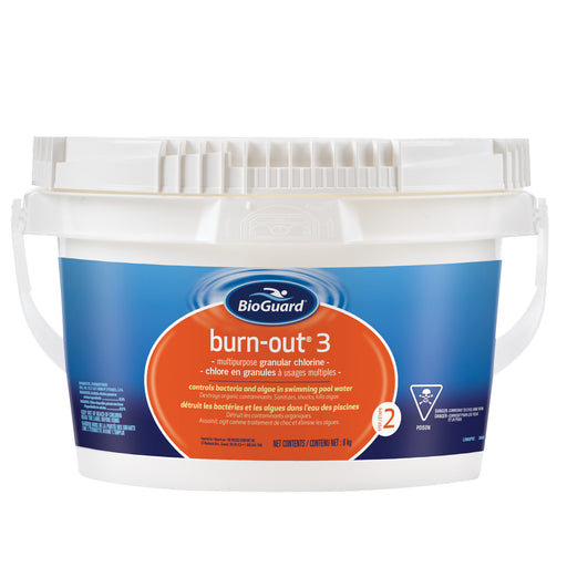 Pool Chemicals - BioGuard Burn-Out® 3 (8kg)