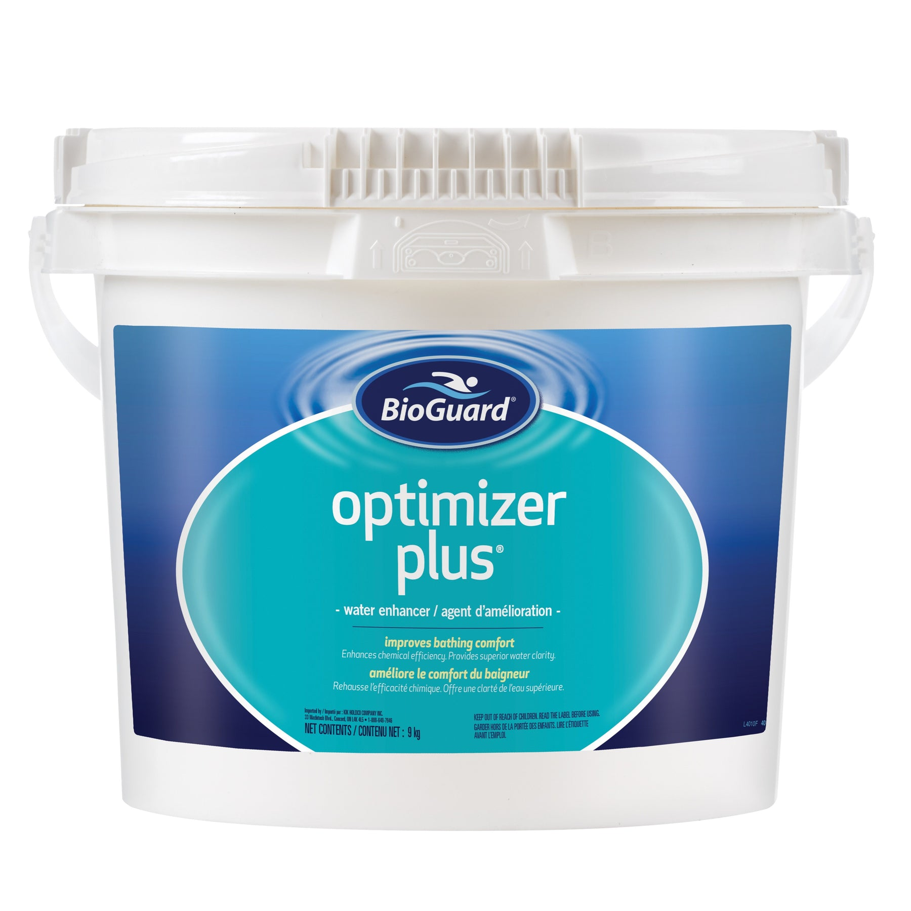 BioGuard Optimizer Plus® (9kg) - Aqua-Tech