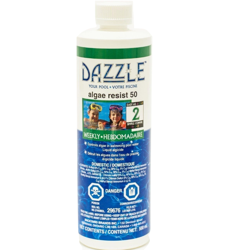 Dazzle Algae Resist 50 (500ml) - Aqua-Tech