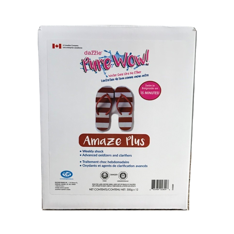 Dazzle Amaze Plus Case (12x350gm Bags) - Aqua-Tech