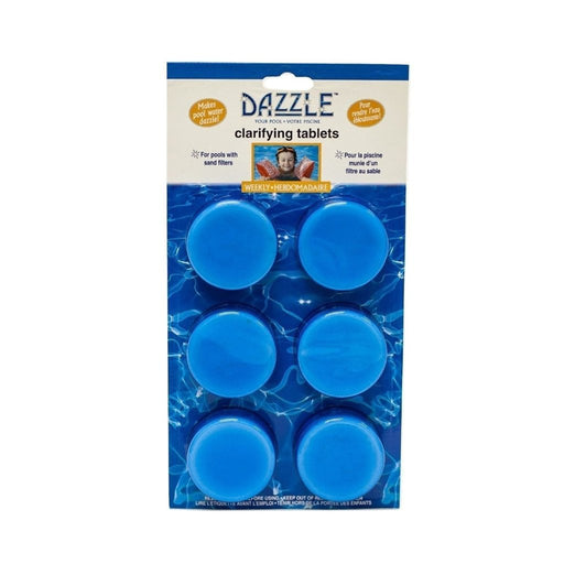 Dazzle Clarifying Tablets (6x60gm Tablets) - Aqua-Tech
