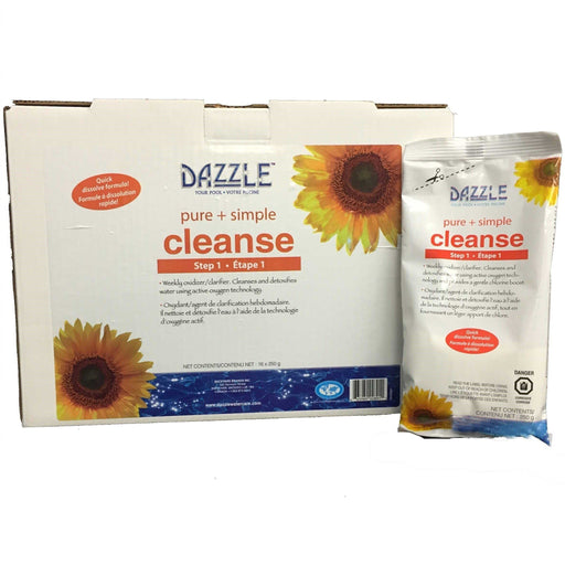 Dazzle Cleanse Case (16x250gm Bags) - Aqua-Tech