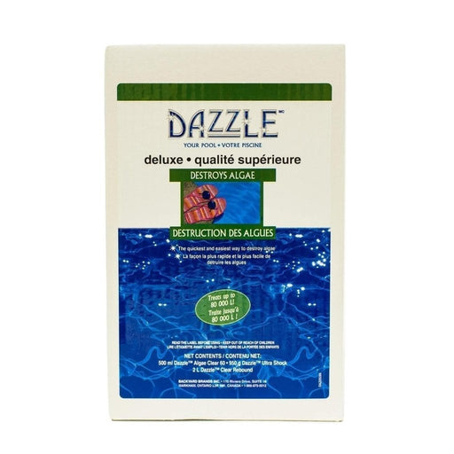 Dazzle Premium Algae Kill Kit (Treats up to 80,000L) - Aqua-Tech