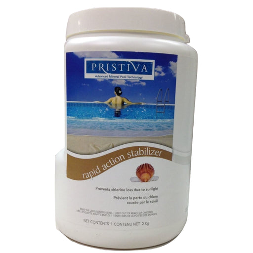 Dazzle Pristiva Rapid Action Stabilizer (2kg) - Aqua-Tech