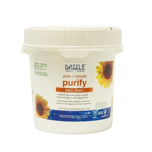 Dazzle Pure + Simple Purify Sticks (4kg) - Aqua-Tech