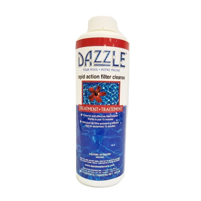 Dazzle Rapid Action Filter Cleanse for Pools (800ml) - Aqua-Tech
