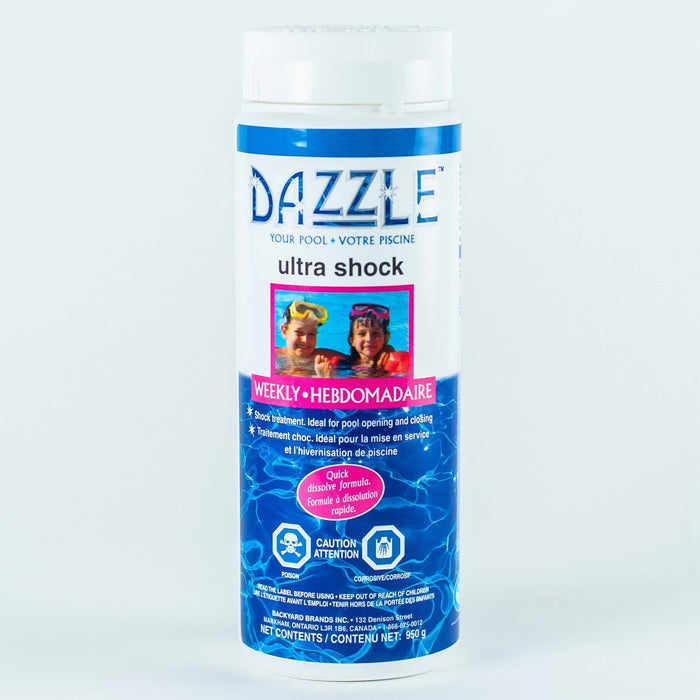 Dazzle Ultra Shock (950gm) - Aqua-Tech