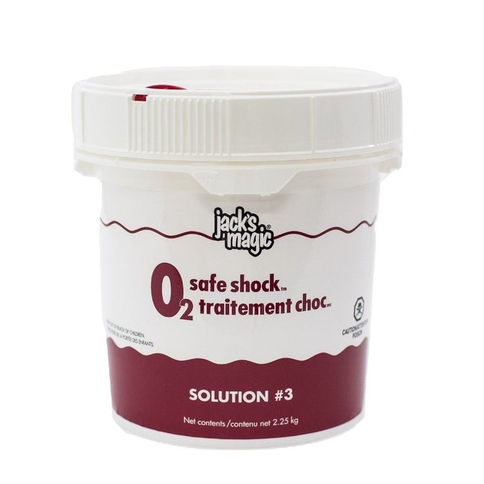 Jack's Magic O2 Safe Shock - Stain Solution #3 (2.25kg) - Aqua-Tech