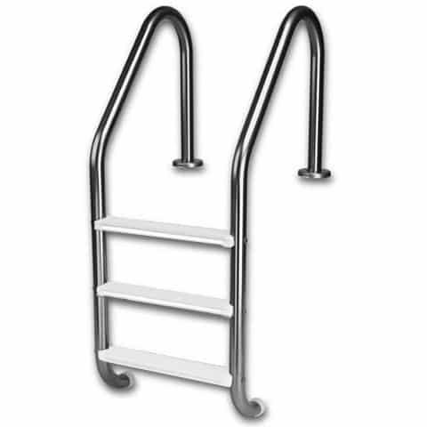 Pool Equipment - 3 Step Ladder For Swimming Pools (P/N: SS-GLLT-3)