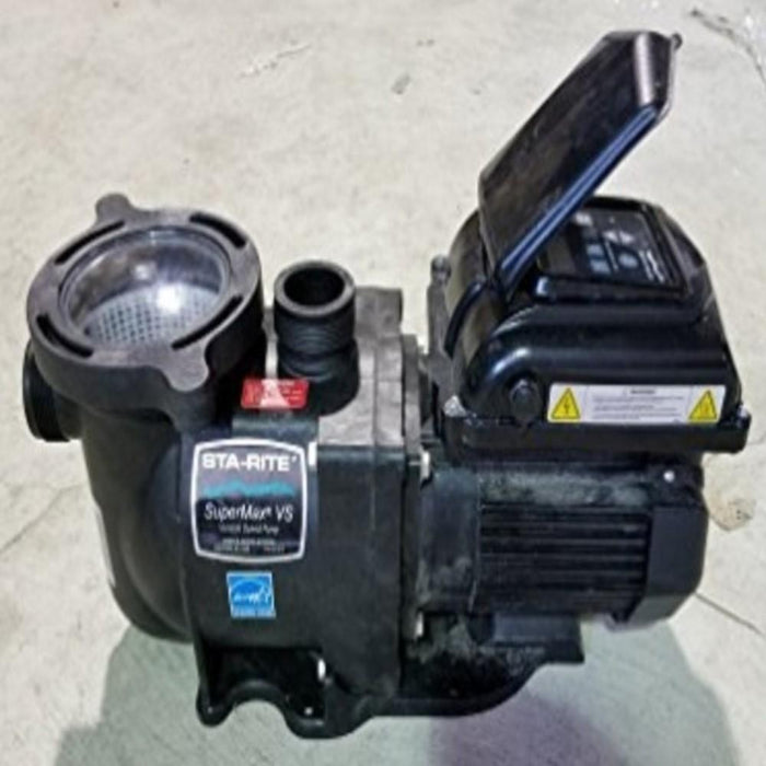 Pool Equipment - Sta-Rite SuperMax Variable Speed Pump (P/N: 343001)