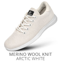Merino Wool Knit Arctic White