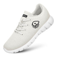 Merino Runners WOMEN - Arctic white 011