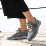 Giesswein Merino Wool Runners WOMEN - grey 017