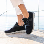 Giesswein Merino Wool Runners WOMEN - dark blue 548
