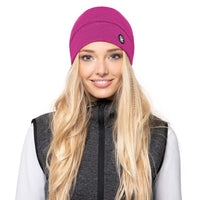 Giesswein Beanie Hohes Eis - grape 374