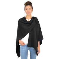 Giesswein Cape - anthracite 029